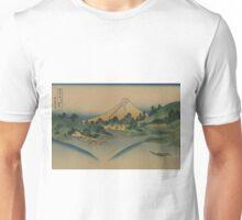 Koshu misaka suimen - Hokusai Katsushika - 1890 Unisex T-Shirt