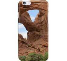 Faces of Nature - Double Arch iPhone Case/Skin