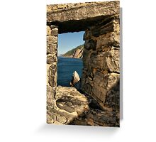 An Ancient View Greeting Card