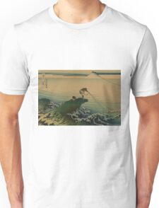 Koshu kajikazawa - Hokusai Katsushika - 1890 Unisex T-Shirt