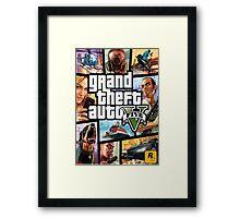 MUH3 GTA Framed Print
