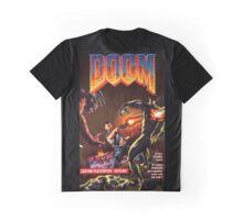 DOOM PS1 Box Art Version 2 Graphic T-Shirt