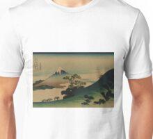 Koshu inume-toge - Hokusai Katsushika - 1890 Unisex T-Shirt
