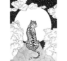 Tiger Moon Photographic Print