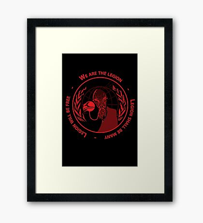 ood-onymous Framed Print