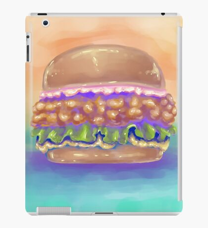 The Fried Chicken Burger iPad Case/Skin
