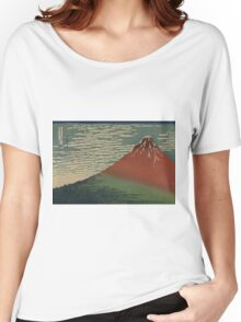 Gaifu kaisei - Hokusai Katsushika - 1890 Women's Relaxed Fit T-Shirt