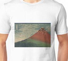 Gaifu kaisei - Hokusai Katsushika - 1890 Unisex T-Shirt