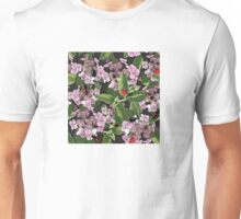 Floral with insects Unisex T-Shirt