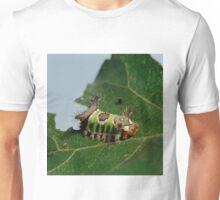 Caterpillar Eating a Leaf  Unisex T-Shirt