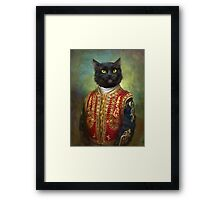 Hermitage Court Moor in casual uniform  Framed Print