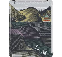 Japan landscape vintage travel poster iPad Case/Skin