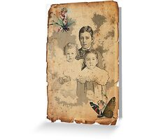 TIME FLIES Greeting Card