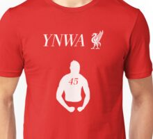 Super Mario will never walk alone. YNWA! Unisex T-Shirt