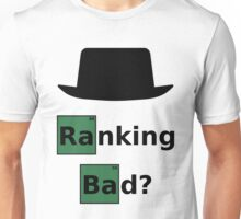 Ranking Bad? Black Hat SEO - Parody Design for Online Marketers Unisex T-Shirt