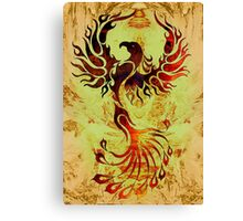 Powerful Phoenix Canvas Print