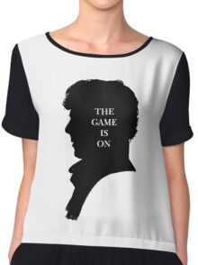 The game is on Chiffon Top
