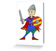 Let's Get Medieval - Viking Around Greeting Card