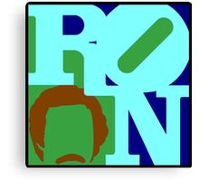 Ron Love (b) (Anchorman) Canvas Print