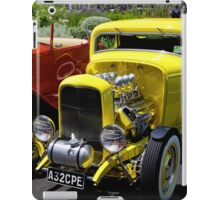 Yellow `32 Coupe iPad Case/Skin