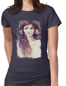 Forest Guardian  Womens Fitted T-Shirt