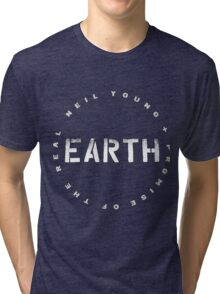 ADS2 Neil Young Earth REBEL CONTENT Tour 2016 Tri-blend T-Shirt