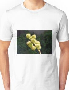 Natural green branch with spikes Unisex T-Shirt