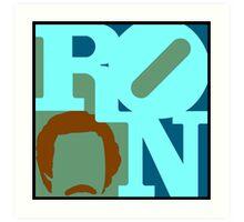 Ron Love (c) (Anchorman) Art Print