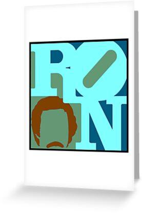 Ron Love (c) (Anchorman) by cudatron