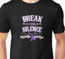 Domestic Violence Awareness Shirt - Domestic Violence Ribbon Unisex T-Shirt