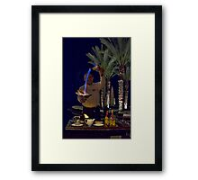 Set The Night On Fire Framed Print