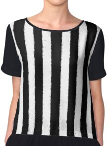 Stripes!  Chiffon Top