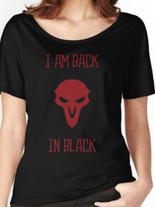 BACK IN BLACK Women's Relaxed Fit T-Shirt