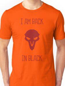 BACK IN BLACK Unisex T-Shirt