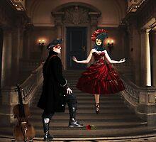 Masquerade... by Karen  Helgesen