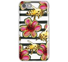 Geraldton Wax Bees iPhone Case/Skin