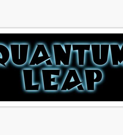 Quantum Leap Sticker
