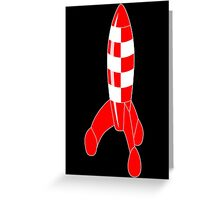 rocket Greeting Card