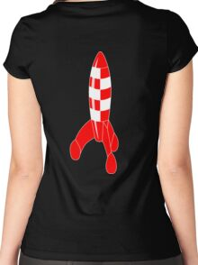 rocket Women's Fitted Scoop T-Shirt