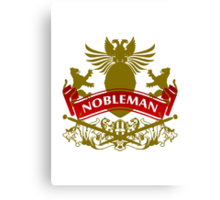 Fit For A Nobleman Coat-of-Arms Canvas Print