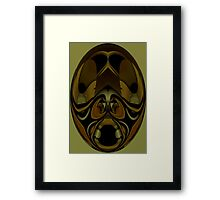 Curvilinear Project No. 305 ( Azeban ) Framed Print