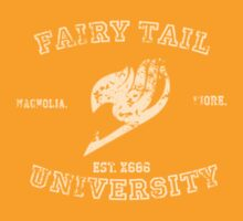 Fairy Tail University by sweetcoffee