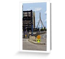 Urban Crossroads Greeting Card