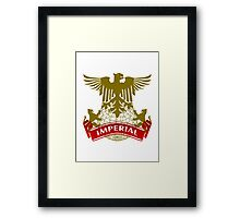 Fit For An Imperial Coat-of-Arms Framed Print