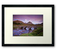 Isle of Skye Moonrise Framed Print