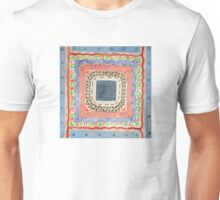 Decorated Gray Central Square Unisex T-Shirt
