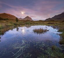 Isle of Skye Moonrise 2 by Angie Latham
