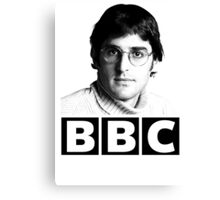 Louis Theroux 90s Young Canvas Print