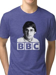 Louis Theroux 90s Young Tri-blend T-Shirt