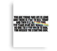 Pink Floyd - Time Canvas Print
